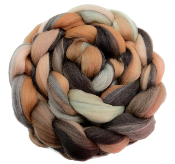 Superfine merino wool roving 19 microns 4 oz,Tempera Collection ( Monnalisa)
