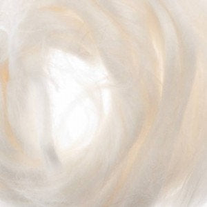 Ramie Roving : Ramie fibers in tones of Natural White