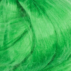 1 oz  Silk roving ,color Millet