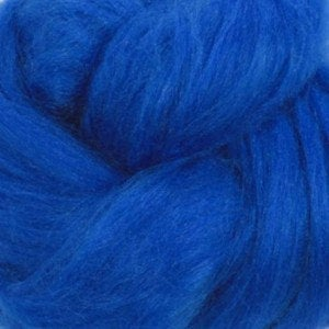 1 oz  Silk roving ,color Chagall