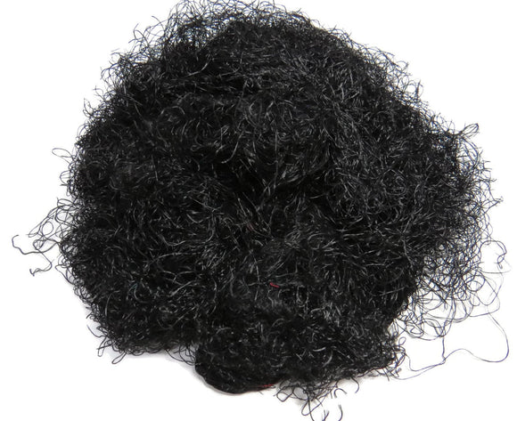 Banana Silk Fiber,1 oz Jet Black