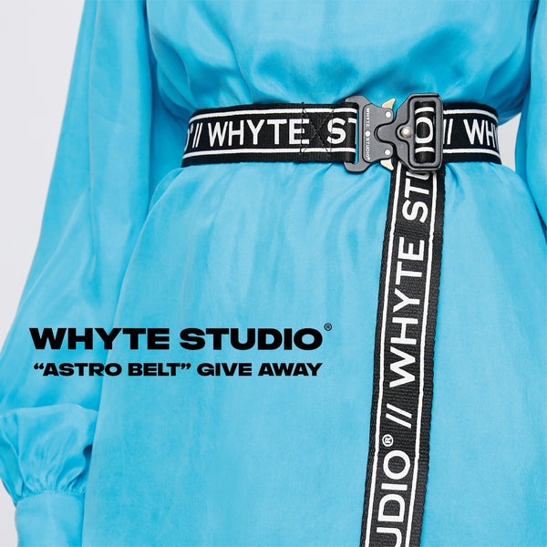 THE ACCESSORY ESSENTIALS, WHYTE STUDIO BELTS //.