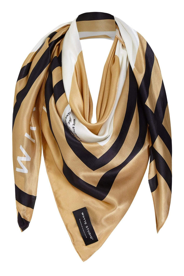 "Accessory THE ""HIGH-SIDE"" LARGE SILK SCARF"