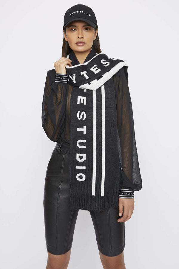 "Accessory THE ""ALTITUDE"" WOOL SCARF"