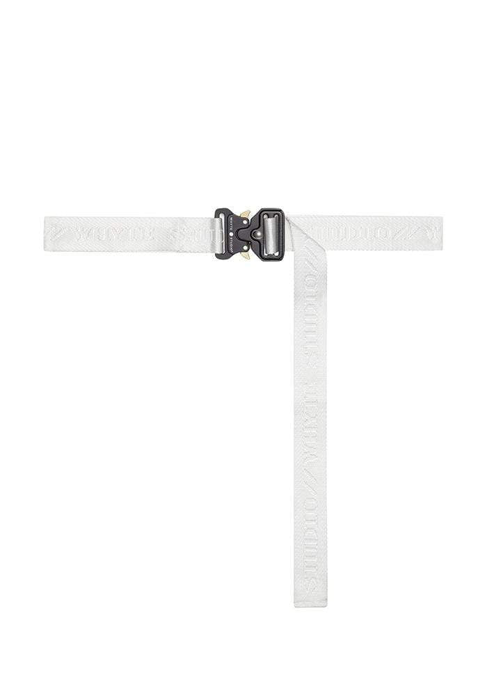 "Accessory THE WHITE ""ASTRO"" BELT"