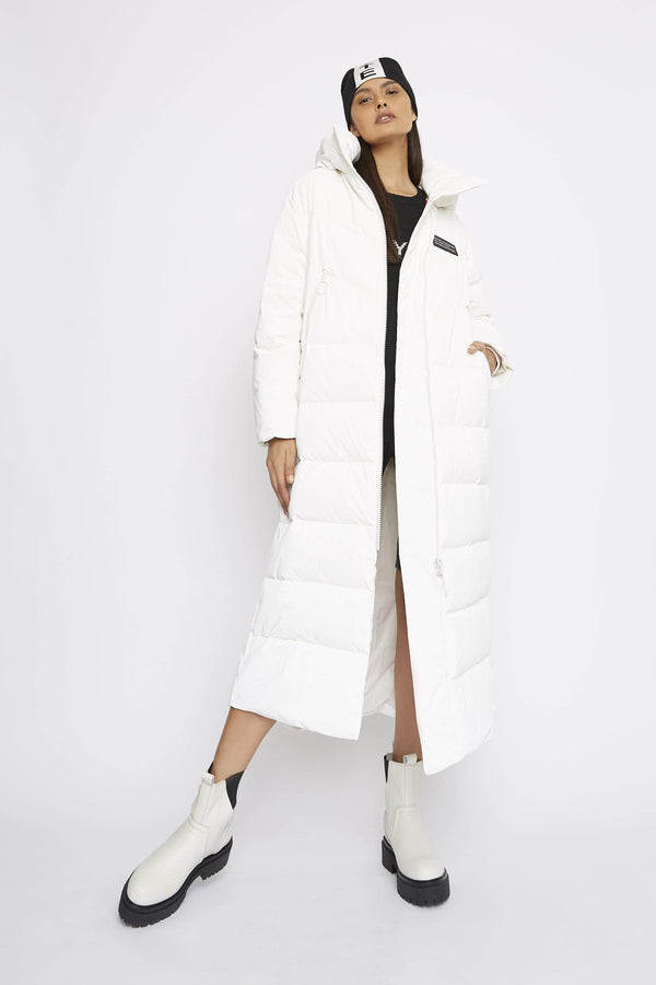 THE 'OBEY' PUFFER COAT - Coat - Whyte Studio