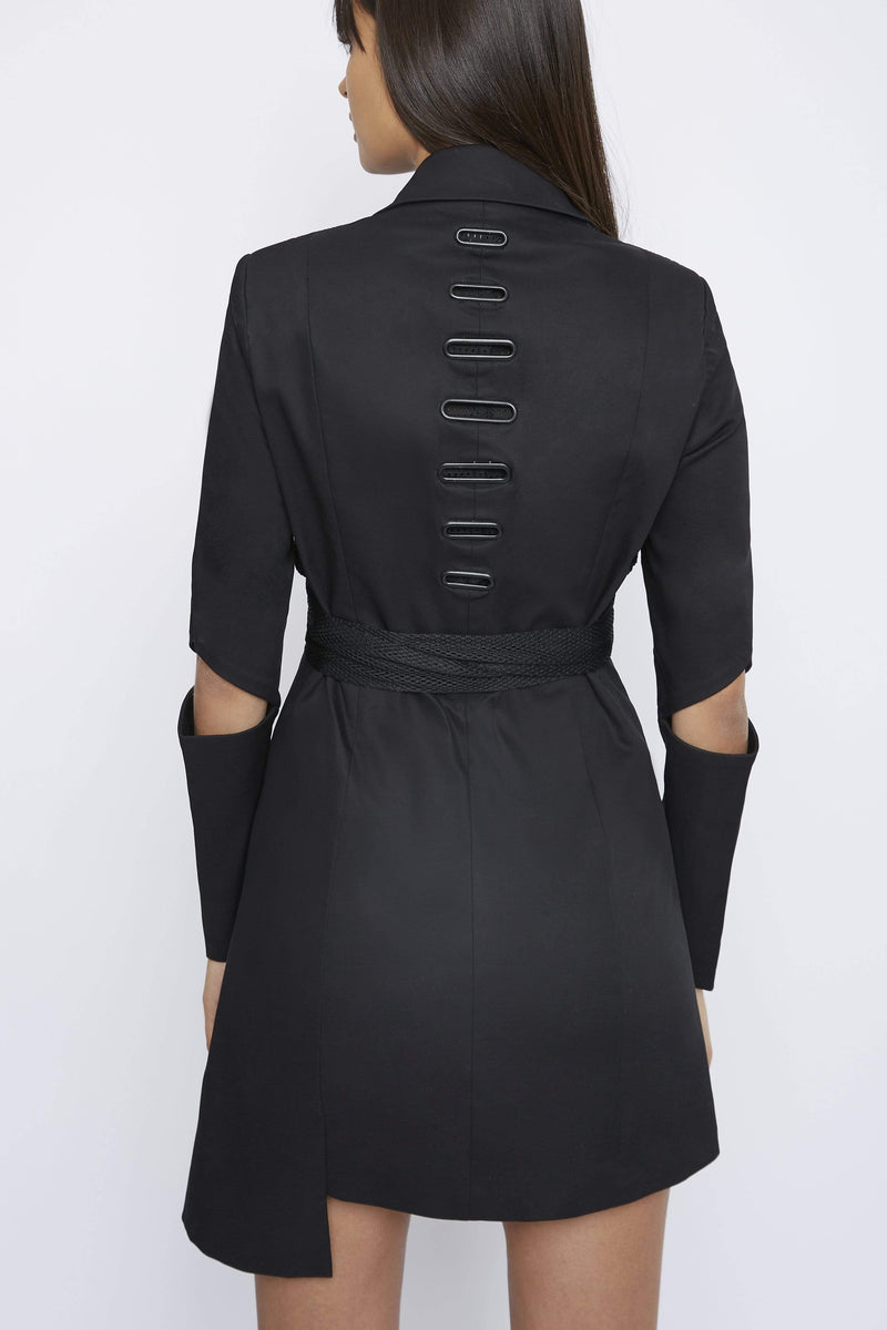 "THE ""BACK UP"" BLAZER DRESS - Dress - Whyte Studio"