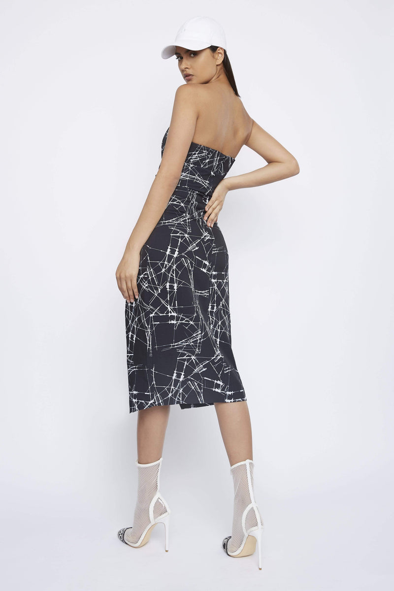 "THE ""CLUTCH"" STRAPLESS DRESS - Dress - Whyte Studio"