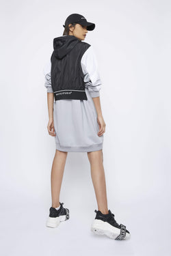 THE 'DEJECT' HOODIE DRESS - Dress - Whyte Studio