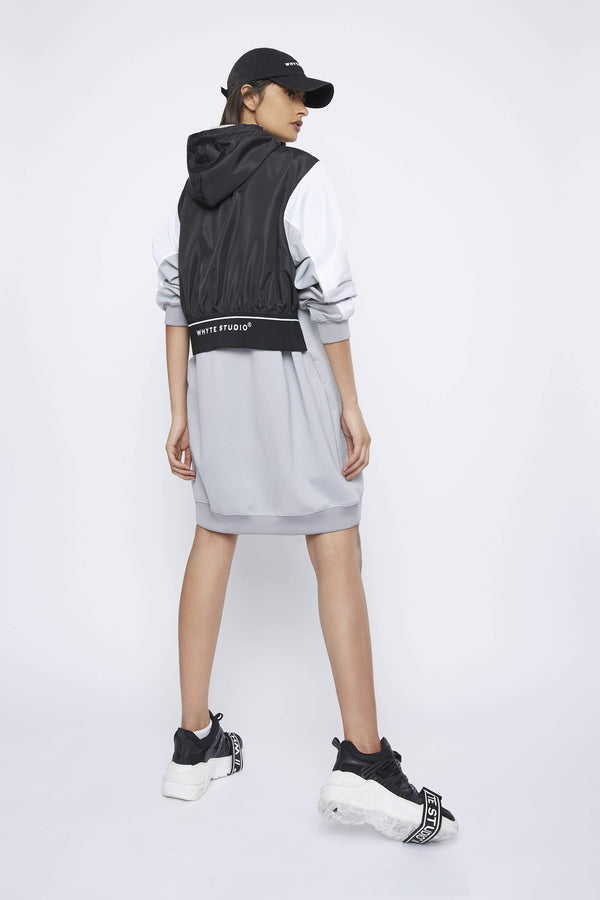 Dress THE 'DEJECT' HOODIE DRESS