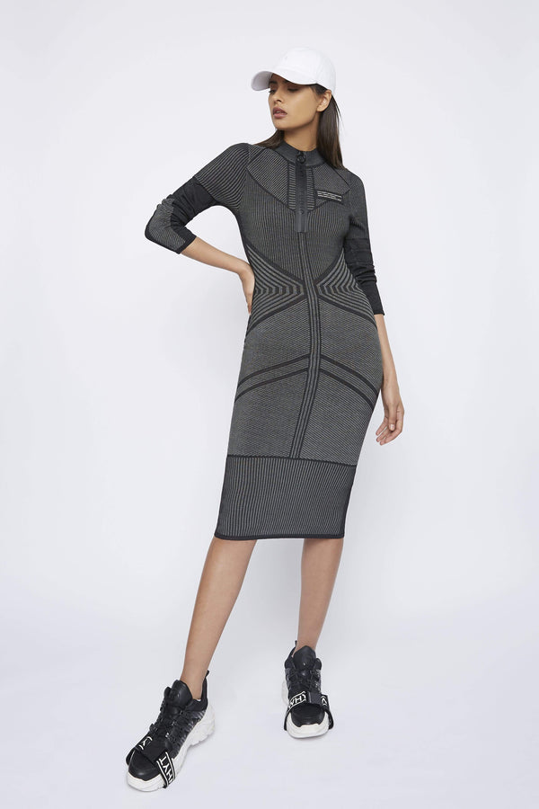 "THE ""DELTA"" KNIT DRESS - Dress - Whyte Studio"
