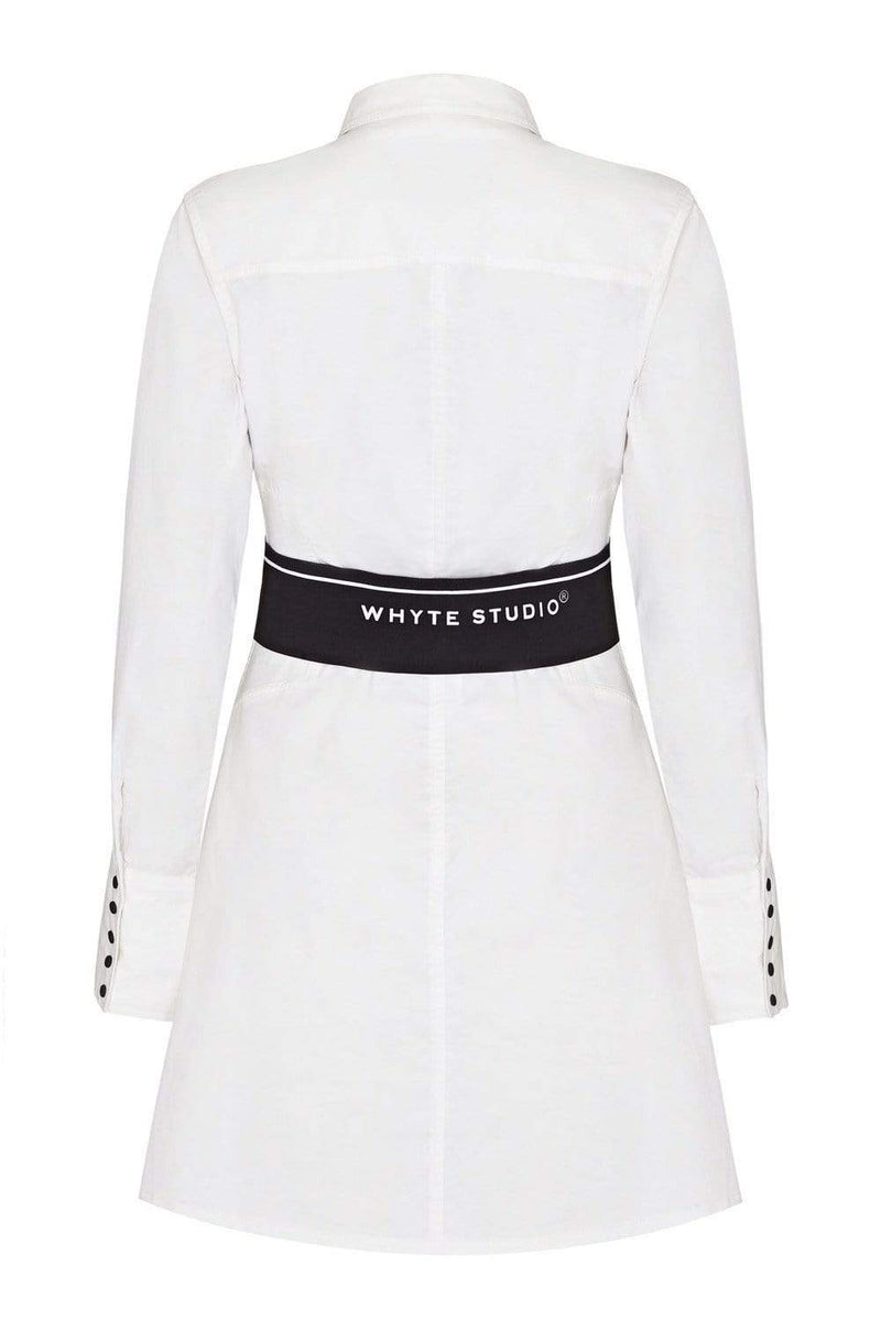 "THE ""DUTY"" SHIRT DRESS (PRE ORDER) - Dress - Whyte Studio"