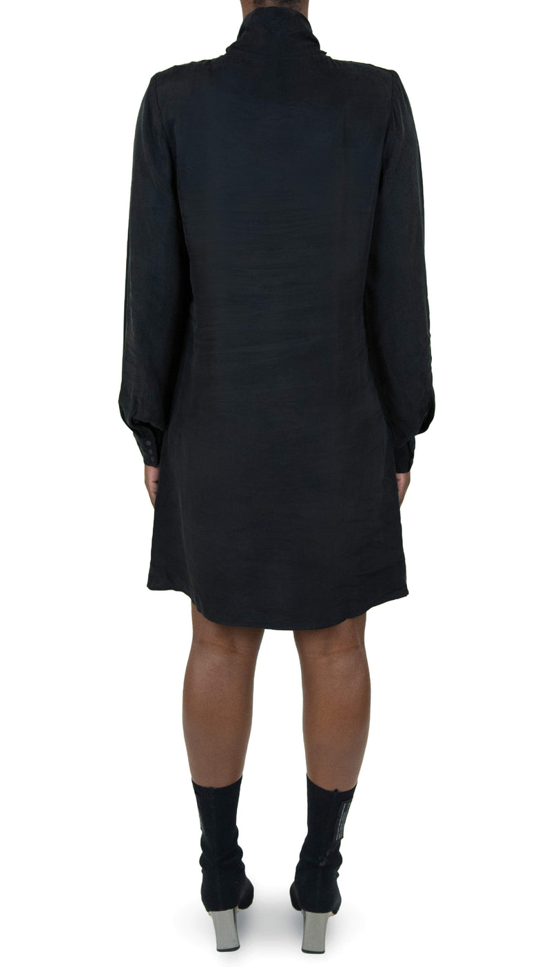 "THE ""JUSTIFY"" SHIFT DRESS WITH NECK TIE - Dress - Whyte Studio"