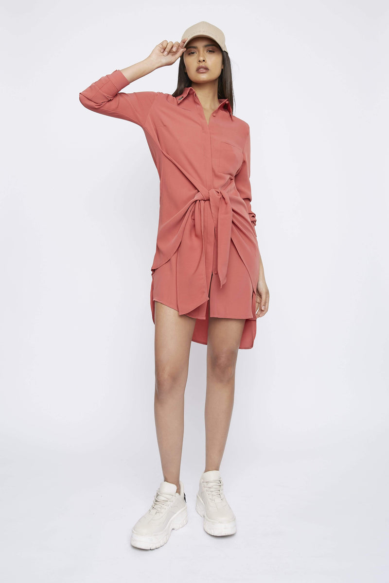 Dress THE 'SPOKE' SHIRT DRESS