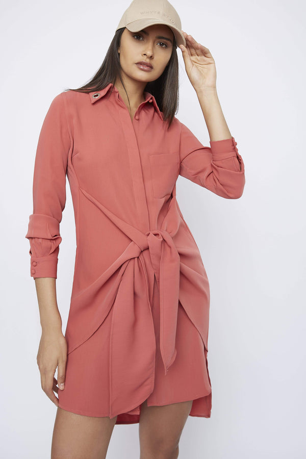 THE 'SPOKE' SHIRT DRESS - Dress - Whyte Studio