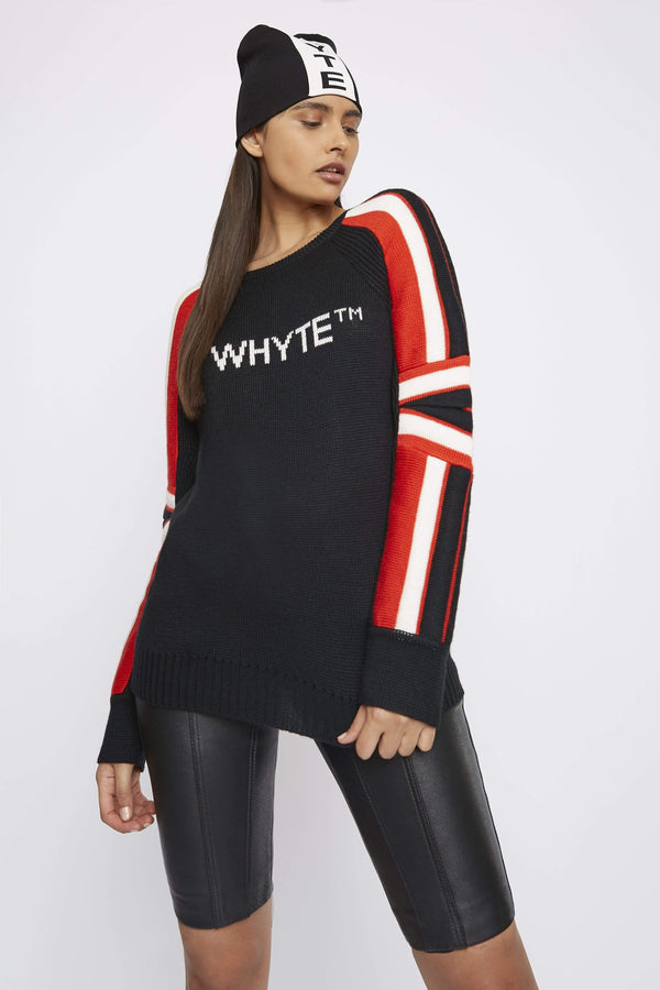 THE ''MOTO'' WOOL JUMPER - Jumper - Whyte Studio