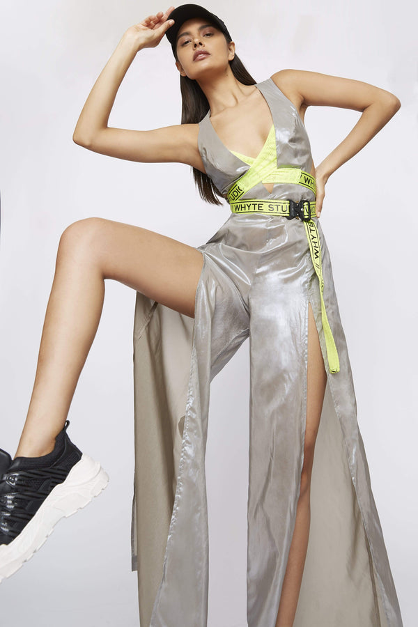 "Jumpsuit THE ""SHINY AF"" WIDE LEG JUMPSUIT"
