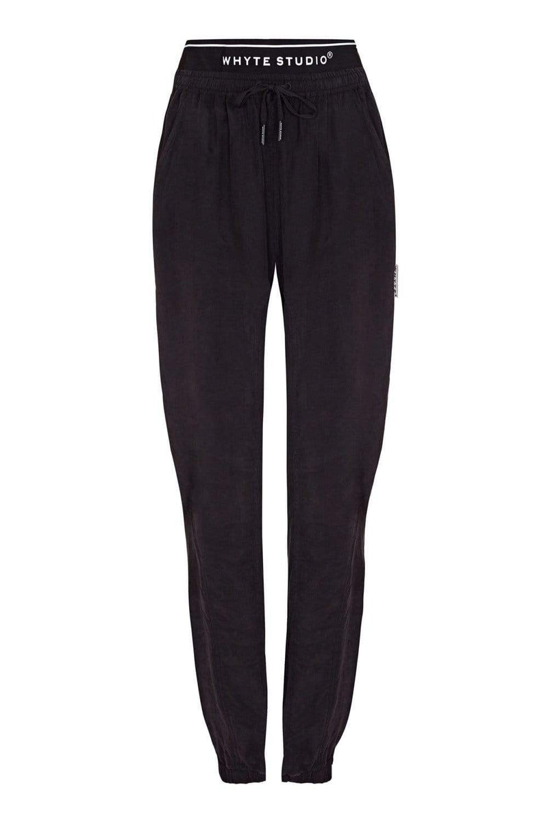 "THE ""TRACK"" SILK JOGGER - Pants - Whyte Studio"