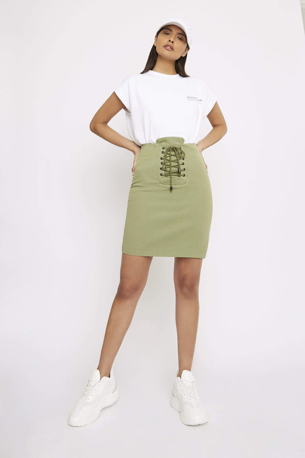 THE 'PURE' MINI SKIRT - Skirt - Whyte Studio