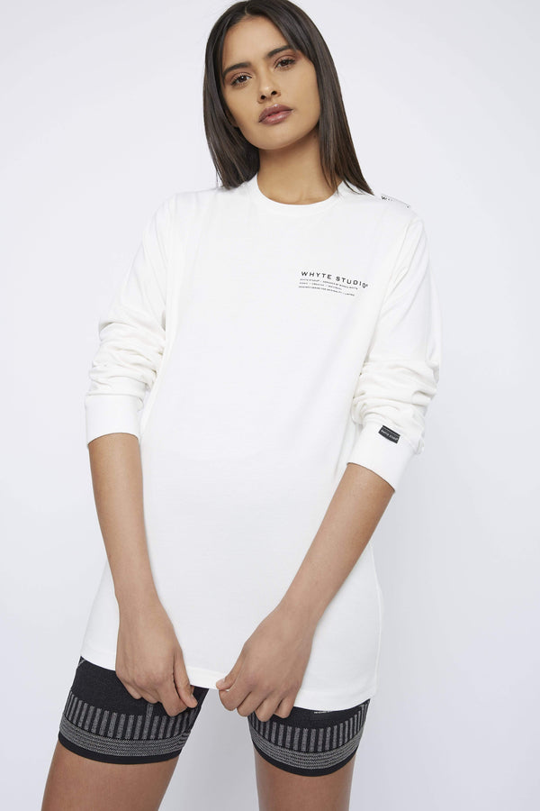 Top THE 'JETWAY' LONG SLEEVE TOP