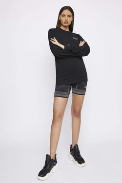 THE 'JETWAY' LONG SLEEVE TOP - Top - Whyte Studio