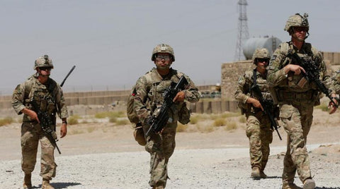 Dinosaurized Blog | American troop in Afghanistan | Soldier |