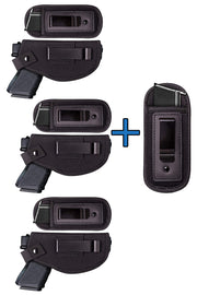 3 PEPE's Universal Holster set + 1 Extra Magazine Holster