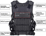 Tactical Ultra-Light Breathable Combat Training Vest