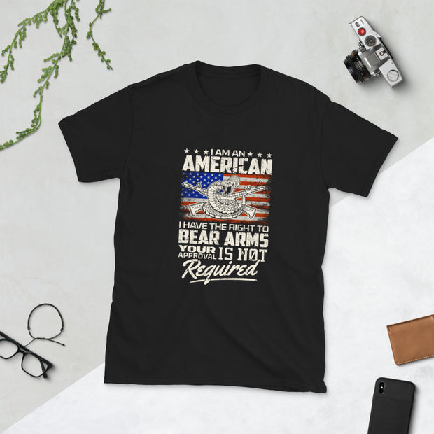 I Am An American Short-Sleeve Unisex T-Shirt