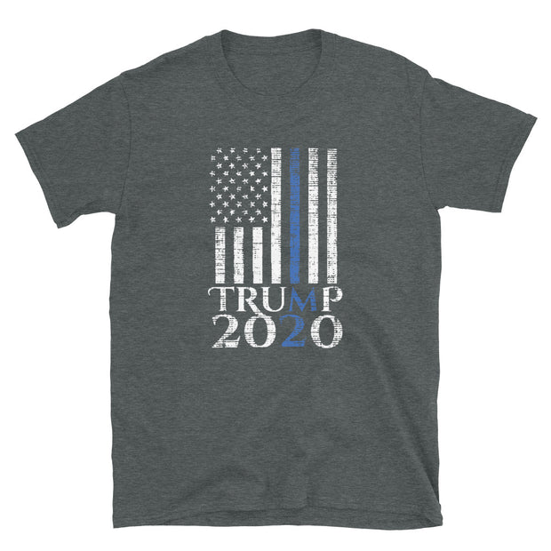 Support Donald Trump 2020 from cops and their family & friends Short-Sleeve Unisex T-Shirt