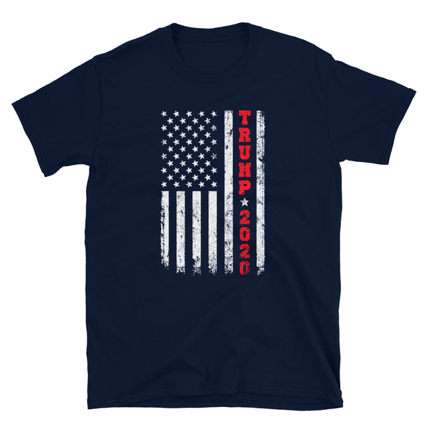 Support Trump 2020 and 2nd amendment Short-Sleeve Unisex T-Shirt