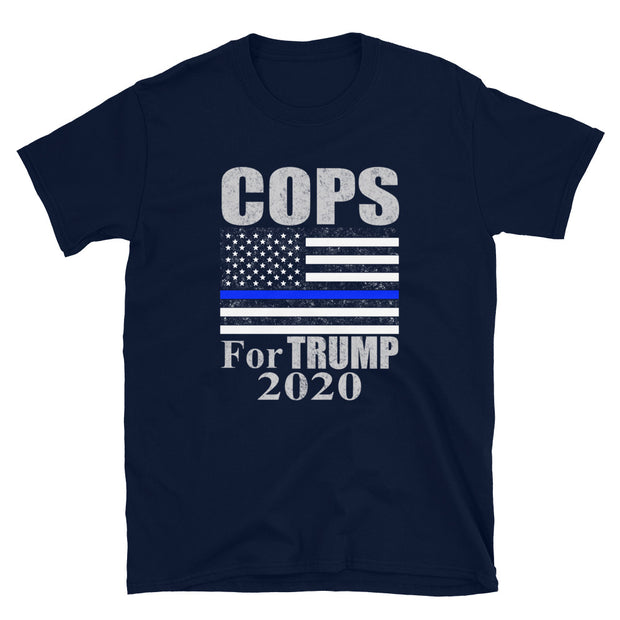 Cops for Trump 2020 Short-Sleeve Unisex T-Shirt