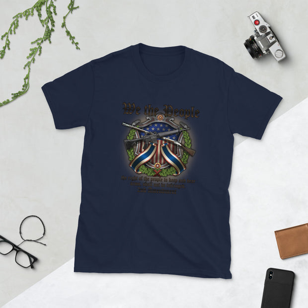 We the people protect 2nd amendment right Short-Sleeve Unisex T-Shirt