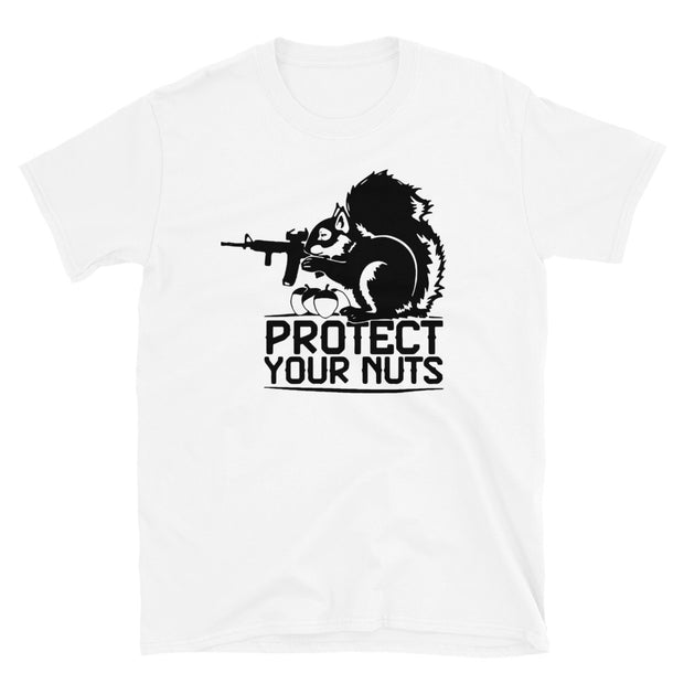 Protect your nuts Short-Sleeve Unisex T-Shirt