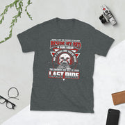 Now i Lay me Down to Sleep Beside My Bed a Gun i Keep and If I wake you're inside the coroner's van will be your last ride Short-Sleeve Unisex T-Shirt