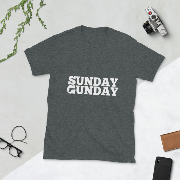 Sunday Gunday Short-Sleeve Unisex T-Shirt