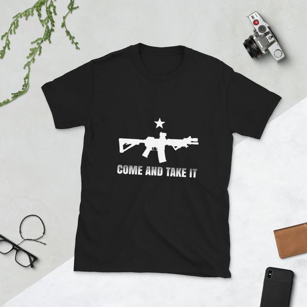 Come and take it Short-Sleeve Unisex T-Shirt