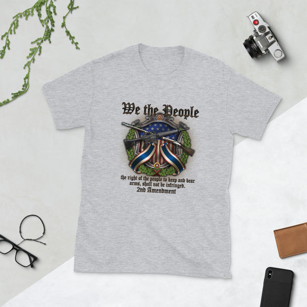 We The People 2nd Amendment Short-Sleeve Unisex T-Shirt