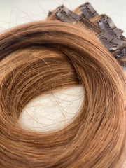 Russian Remy Clipin Hair Extensions