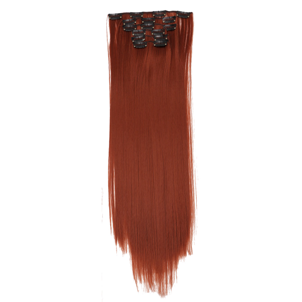 12 Piece Clip In Premium Fiber Hair 22""