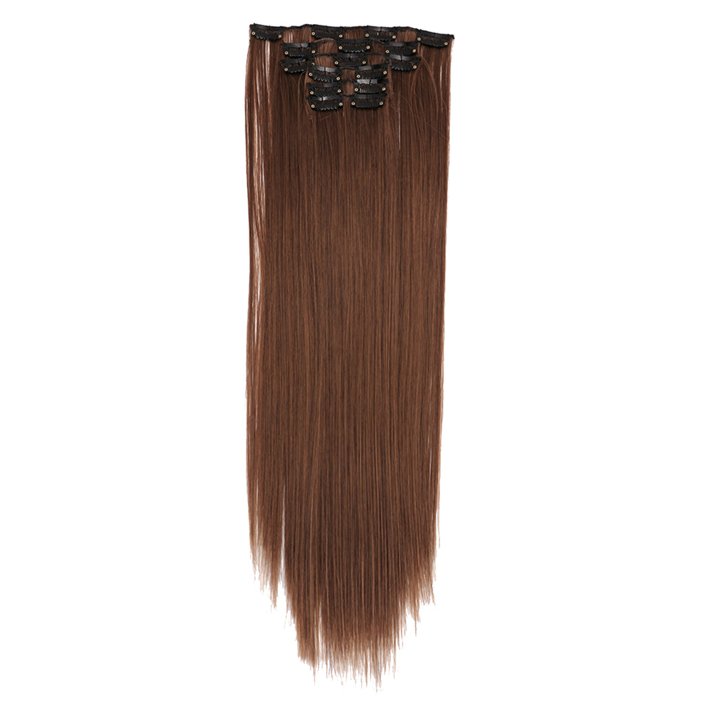 12 Piece Clip In Premium Fibre Hair 22""
