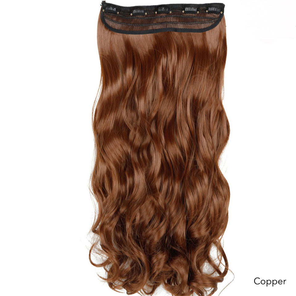 One Piece Strip Premium Fibre Clip In Hair (Wavy) 24""