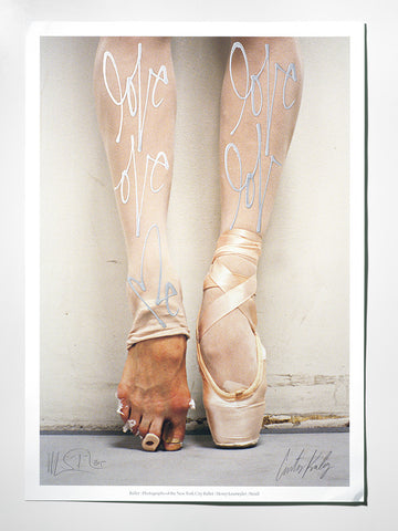 BALLET FEET COLLABORATION PRINT EDITION #2