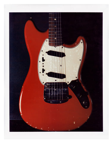 Jimi Hendrix Red Fender Mustang Front