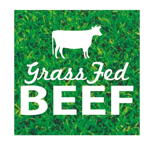 GRASS FED BEEF LABEL(1000) 45X45MM