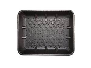 FOAM TRAYS - 11X9 BLACK ABSORB (360)