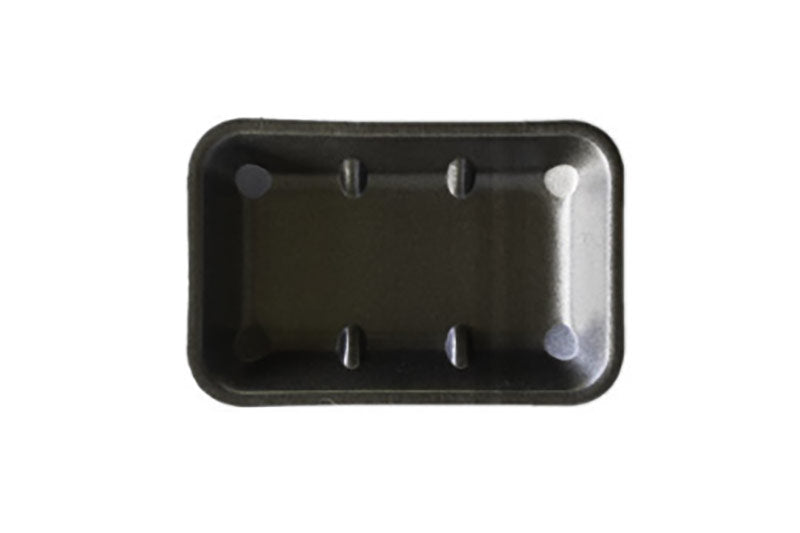 FOAM TRAYS -8X5 BLACK NON ABSORB(360)