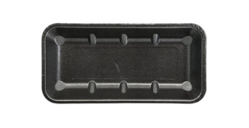 FOAM TRAYS -11X5 BLACK NON ABSORB(360