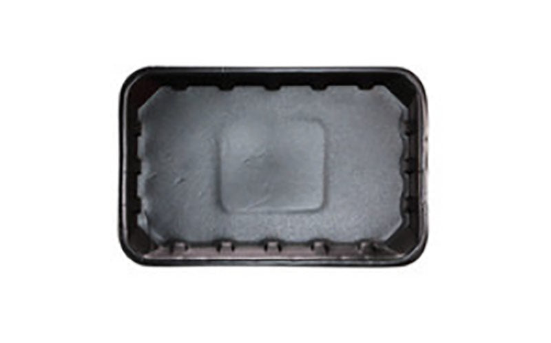FOAM TRAYS -8X5 BLACK SHALLOW   (1000)