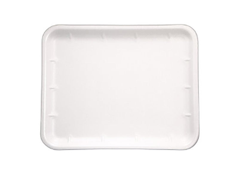 FOAM TRAYS -11X9 WHITE SHALLOW   (500)